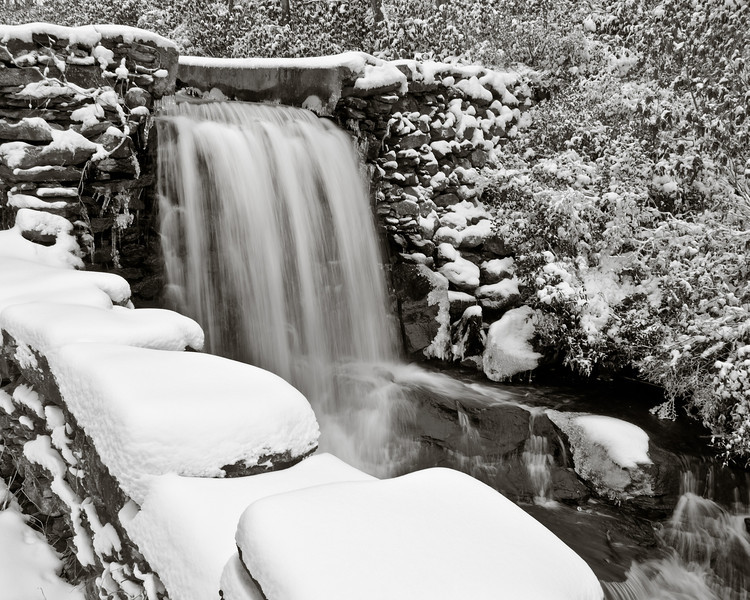 Moore State Park in winter.