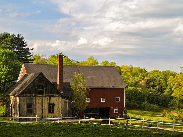 A farmhouse in Boylston.