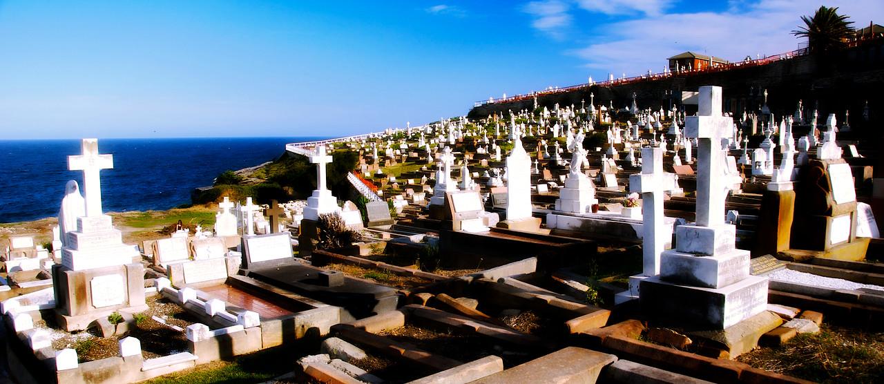 Waverly Cemetery, Bronte, Sydney.