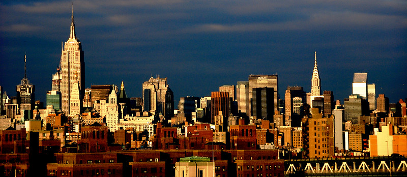 New York City Skyline, New York.