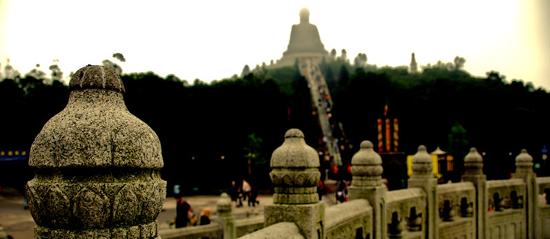 Big Buddha at Po Lin Monastery, Hong Kong.