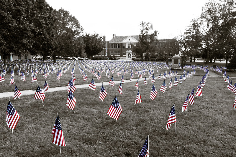 911 Memorial, 2011<br /> Town Green<br /> Old Saybrook, CT