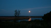 Moonrise over CT River & Ragged Rock Creek<br /> Taken from Founders Memorial Park, Old Saybrook, CT<br /> Looking toward Old Lyme, CT