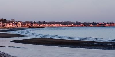 Winter Sunset II Westbrook, CT