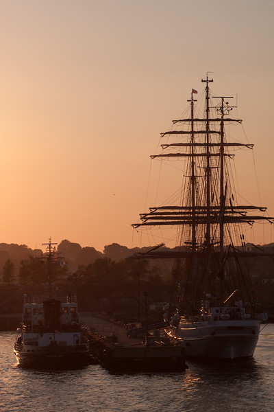 """IMG_5774<br /> Coast Guard barque """"Eagle"""" berthed in Waterford, CT"""