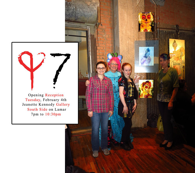 "ART Love Magic - ""Seven"" show  - Feb 2014"