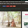Offbeat Bride feature - Amanda & Ian - Sherwood Forest Faire