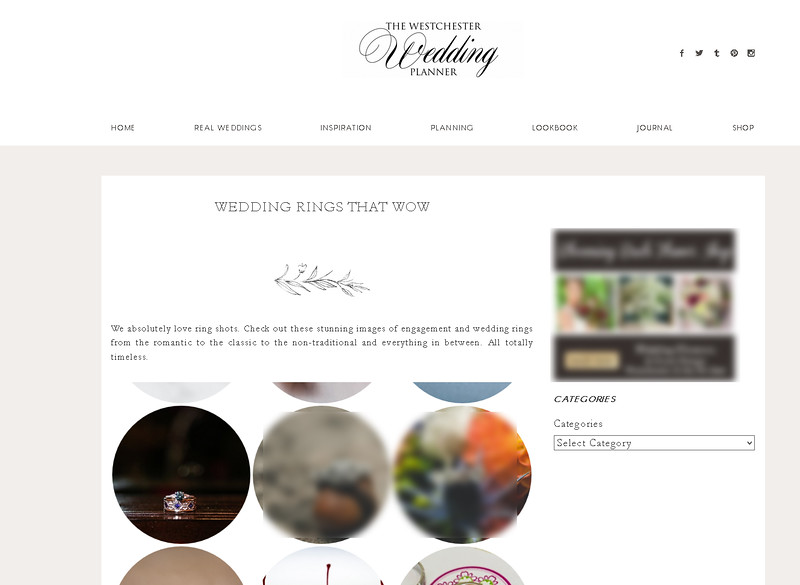 Westchester Planner ring feature!