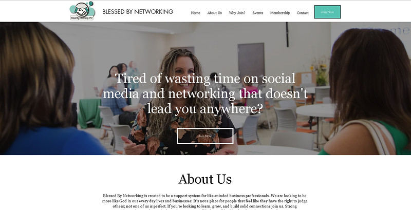 Photography Feature - Blessed by Networking Website 2019