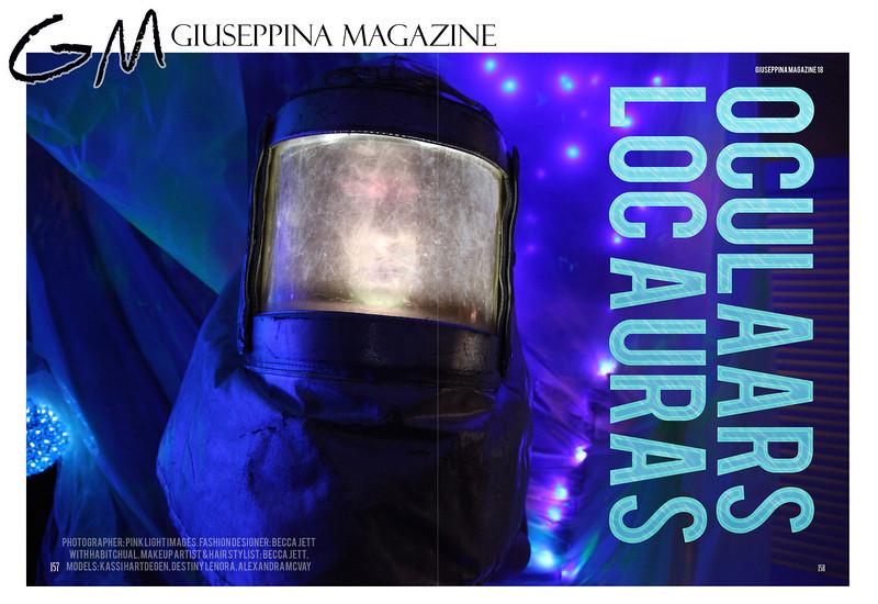 "Giuseppina Magazine - ""Invaders"" issue - April 2014"