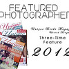 My wedding features in Unique Bride Magazine - 2012
