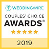 Couples Choice Award- Wedding Wire 2019