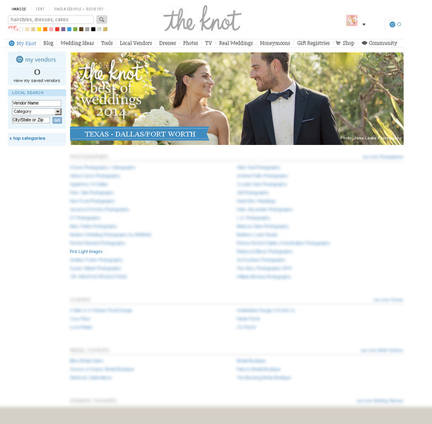 FEATURED BEST OF WEDDINGS 2014 - on the Knot & Wedding Channel!!!!! - January 2014