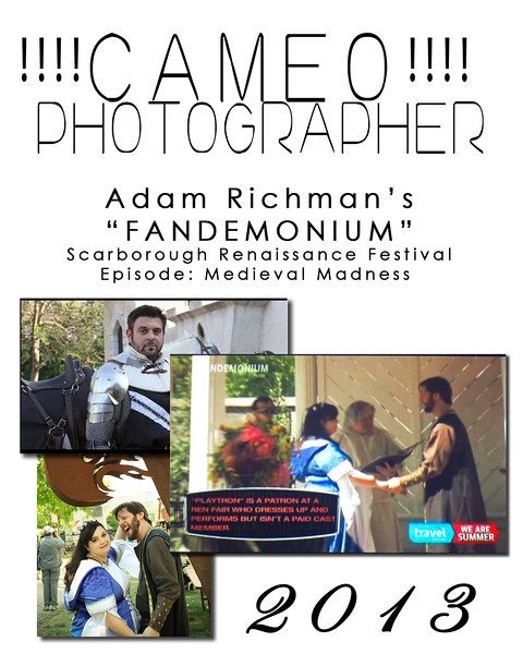 My cameo on Fandemonium - July 28th, 2013 - The Travel Channel