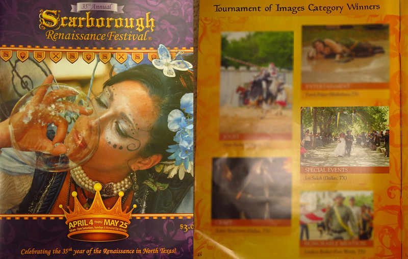 WINNER: Scarborough Renaissance Festival - published in 2015