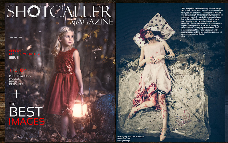 Featured Image in Shotcaller Magazine - January 2, 2017