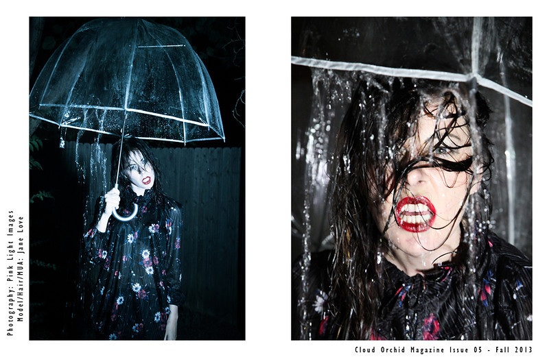 Published in Cloud Orchid Magazine - November 2013<br /> Photography: Pink Light Images<br /> Model/MUA/Hair: Jane Love