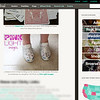 Offbeat Bride feature - Sam/Lindsay - Mom's shoes