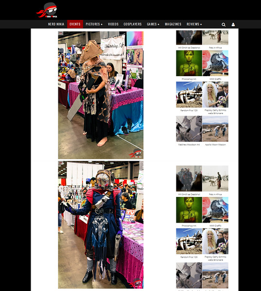 Dallas Comicon - My cosplay images - May 2015 by Nerd Ninja