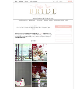 Blog Feature! Pretty Pear Bride - Jessica's Bridals!