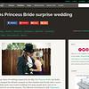 Offbeat Bride feature - Surprise Princess Bride Wedding - Kathy & Nathan