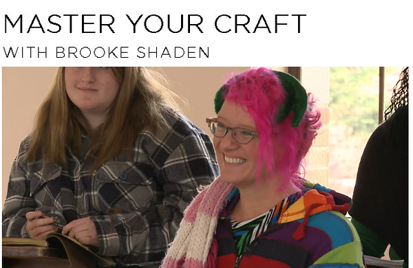"Creative Live ""Master your Craft"" with Brooke Shaden"
