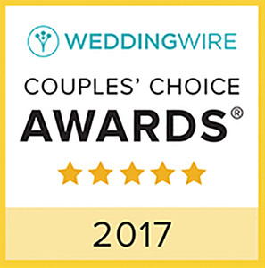 Couples Choice Award - Wedding Wire - 2017