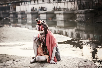 Sadhu in Thought