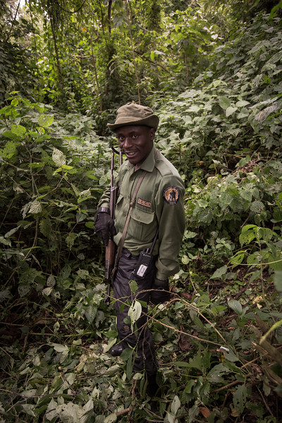 Emmanual Kasusu - Park Ranger | Virunga National Park