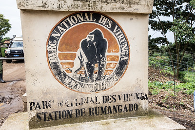 Entrance to Virunga National Park