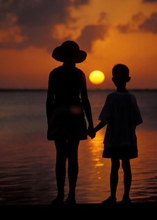 sibling sunset