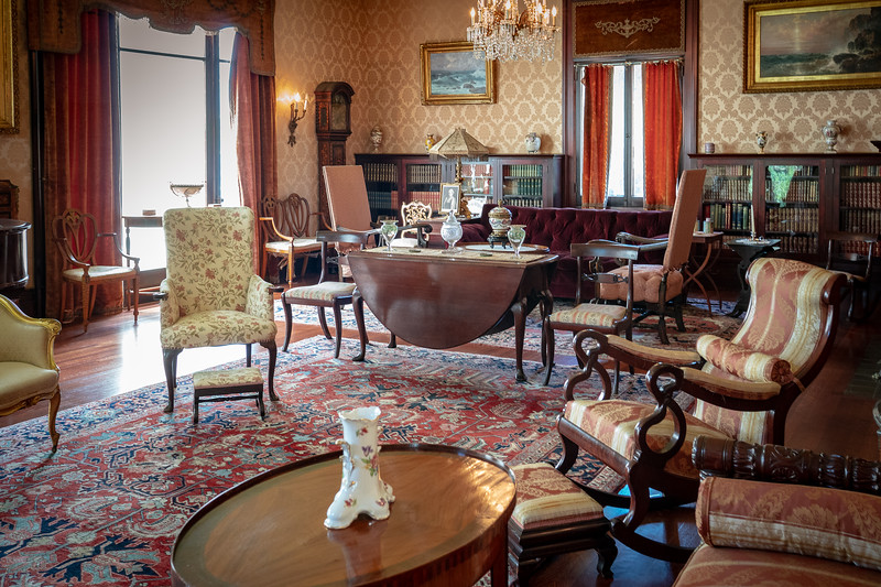 Drawing Room at Fenyes Mansion