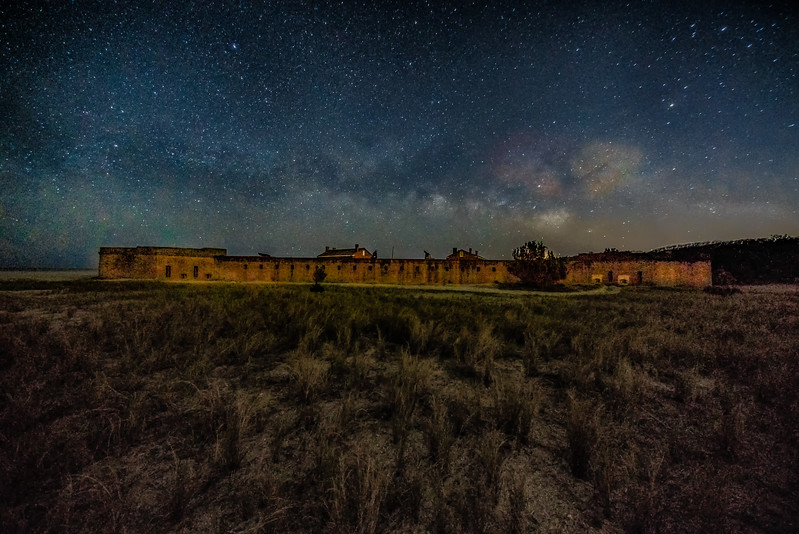 Fort Clinch Starry Night