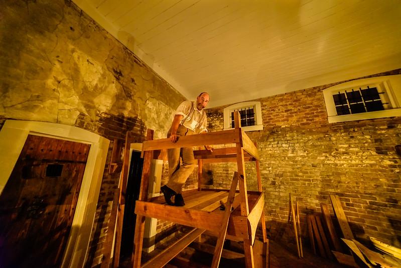 Carpenter Reenactor