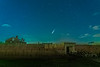 Comet Neowise over Fort Clinch Florida