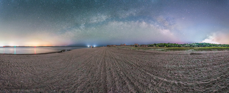 Fort Clinch Florida 12mm Panorama