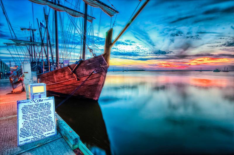 Nina Port Call Fernandina Florida