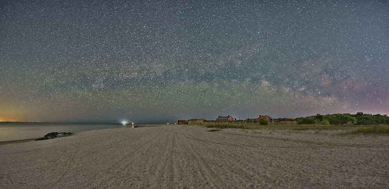 Universe over Fort Clinch