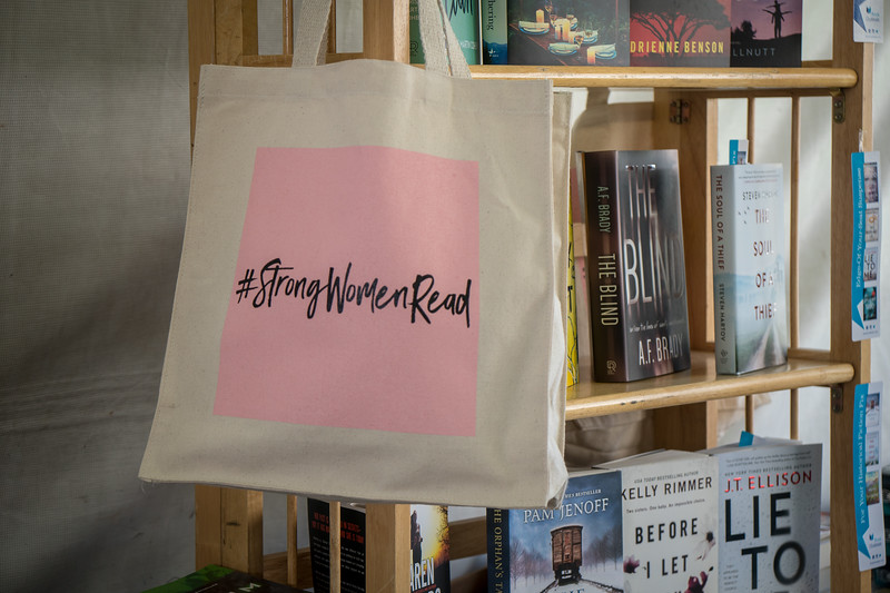 Popular Tote Bag at the Festival of Books