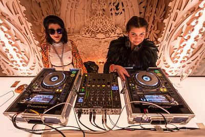 Cici & DJ Lisa Frank