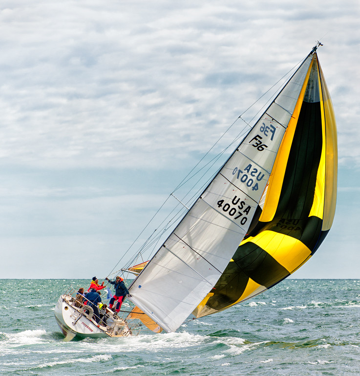 Under Sail in the 2014 Figawi Race