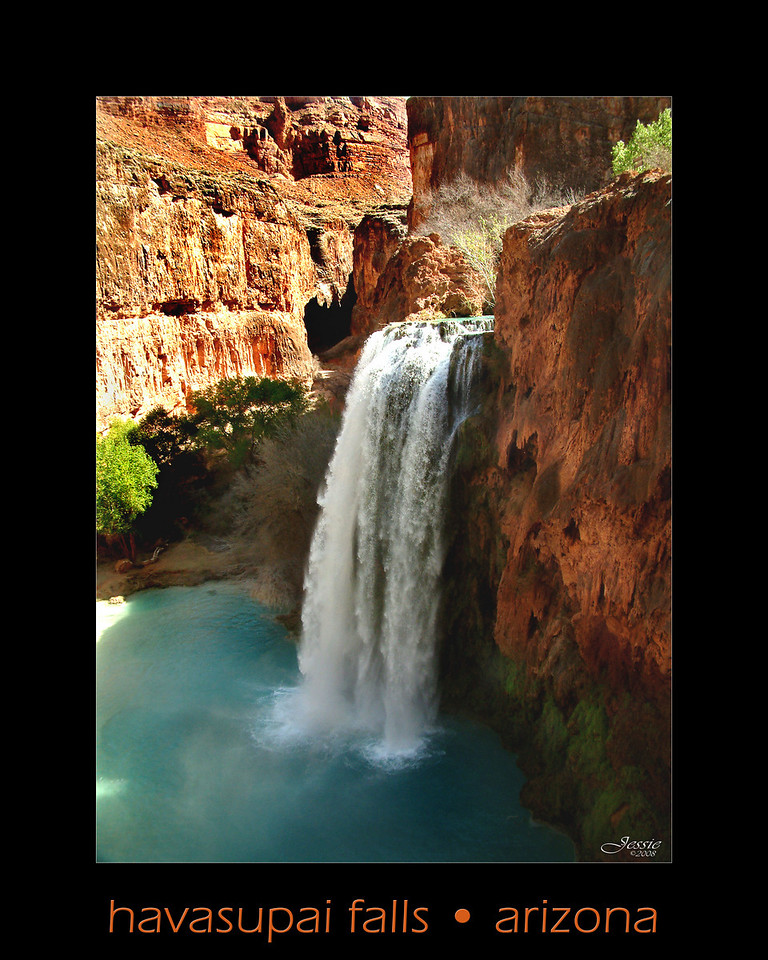 Havasu Falls is paradise on Earth!  <br /> ORDER #83212