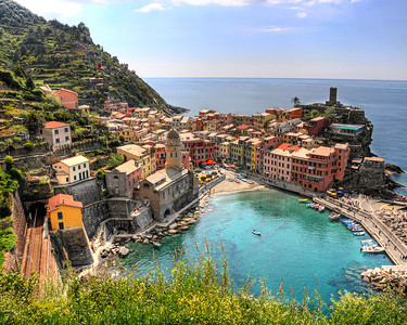 Vernazza, Cinque Tera, Italy