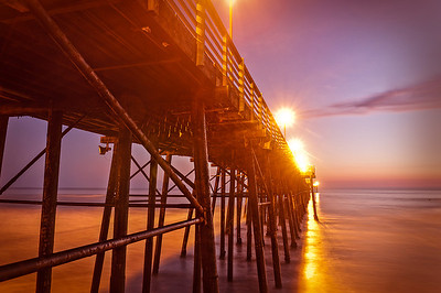 Pastel Pier Long Exposure