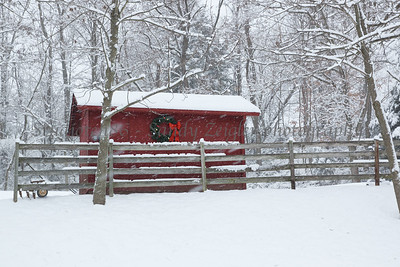 The Hidden Red Barn