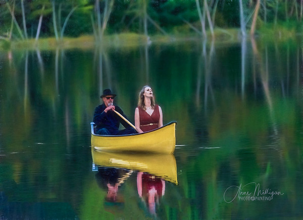 """Soprano Brooke Dufton's beautiful and haunting """"Music on the Lake"""" performance on Canton Lake"""