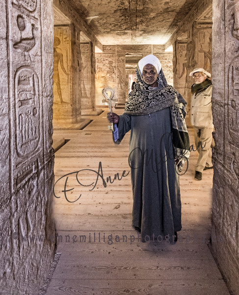 The key to the Temple at Abu Simbel, Egypt