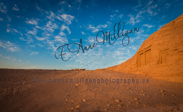 The Path to Abu Simbel, Egypt