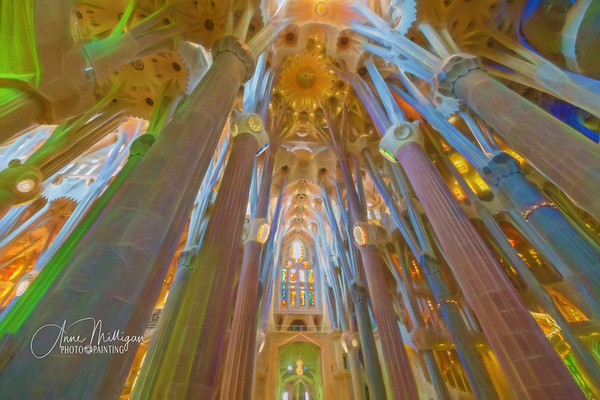 Catedral de la Sagrada Familia, Barcelona, Spain