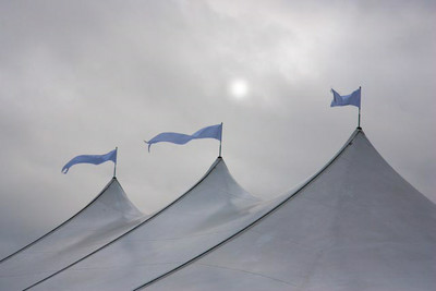 Pennants Flying At The Bigtop